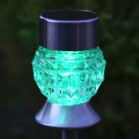 Bright Garden Diamond Path Solar Light - Square
