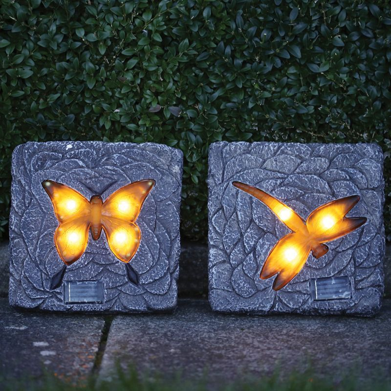 Buy Solar Stepping Stone Light Butterfly Online At