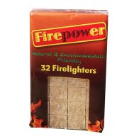 See more information about the Firepower 32 Firelighters