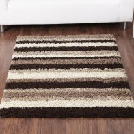 See more information about the Rug Sienna Stripe Chocolate & Natural (160 x 225 cm)