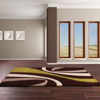 See more information about the Rug Rapello Ravine Brown & Green (120 x 165 cm)