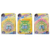 Giant Bubble Playing Set Outdoor Toy Yellow Circle