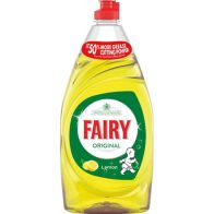 See more information about the Fairy Washing Up Liquid - Lemon