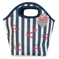 See more information about the Lunch Tote Beach Picnic Cooler Bag - Stripes Design