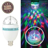 See more information about the Global Gizmos Disco Light Bulb (1.5W)