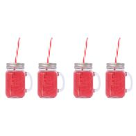 See more information about the 4 Pack of Mason Jars with Lids