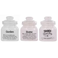 See more information about the 3 Set of Storage Jars with Lids