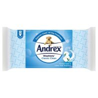 See more information about the Andrex Classic Clean Washlets 40 Sheets