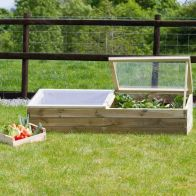 See more information about the Wooden Sleeper Cold Frame