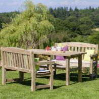 See more information about the Emily Garden Table with Bench