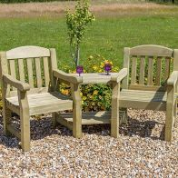 See more information about the Emily Garden Love Seat