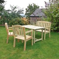 See more information about the Caroline Table, Bench And Chair Set