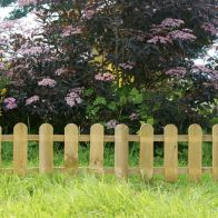 See more information about the Mini Pickets Fence (Pack Of 4) 2.8m