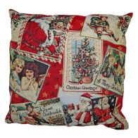 Festive Christmas Cushions - Gift Tag Design 2 for £10
