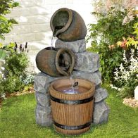 See more information about the Spilling Pot Wall Water Feature With LED Light