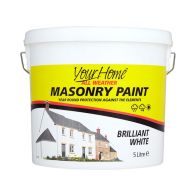 See more information about the Your Home 5 Litre Masonry Paint - White
