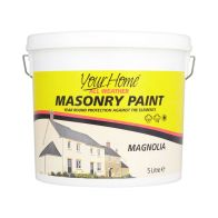 See more information about the Your Home 5 Litre Masonry Paint - Magnolia