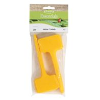See more information about the Tildenet Pack of 20 Yellow Plastic Garden T-Labels