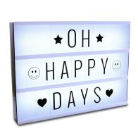 See more information about the LED Light Box (With Letters)