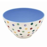 See more information about the Polka Dot Melamine Salad Bowl