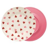 See more information about the Pink Hearts Melamine Plate