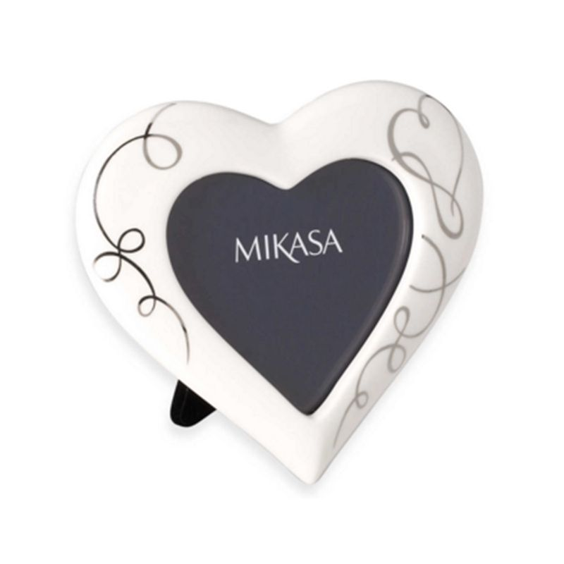Buy Mikasa Heart Shaped Photo Frame Lovestory Online At Cherry Lane