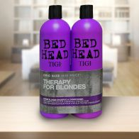 See more information about the TIGI Bed Head Therapy For Blondes Twin Pack (2x 750ml)