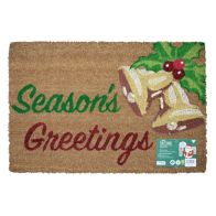 See more information about the Christmas Seasons Greetings & Bells Door Mat 40 x 60cm