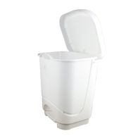 See more information about the Small White 8 Litre Pedal Bin