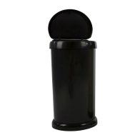 42 Litre Black Touch Opening Moda Bin