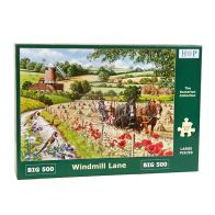 See more information about the House Of Puzzles Jigsaw Windmill Lane 500 Big Pieces