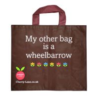 See more information about the Woven Shopping Cherry Lane Bag - My other bag is a wheelbarrow