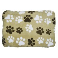 See more information about the 60x40cm White Paws Design Light Brown Pet Mat
