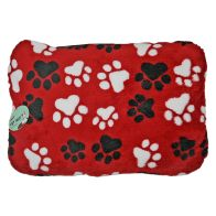 Pet Mat (40x60cm) - Red Paws Design