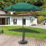 See more information about the Croft 2.2m Green Aluminium Parasol