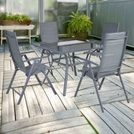 See more information about the Croft Saint Tropez 4 Seater Square Patio Set