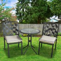 See more information about the Arles 3 Piece Garden Patio Bistro Set