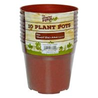 See more information about the 10 Pack Growing Patch 4 Inch Plant Pots
