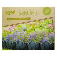 See more information about the Growing Patch 12 Piece Plastic Garden Fence