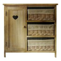 See more information about the Ava 3 Drawer 1 Door Cabinet 56x30x55cm