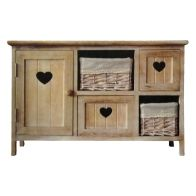 See more information about the Ava 4 Drawer 1 Door Cabinet 63x30x39.5cm