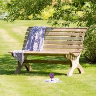 See more information about the Harriet Park Garden Bench 4 Foot
