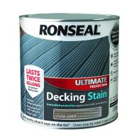 See more information about the Ronseal Decking Stain Stone Grey Ultimate Protection 2L+25%