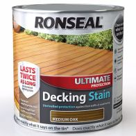 See more information about the Decking Stain Medium Oak Ultimate Protection 2 Litre & 25%