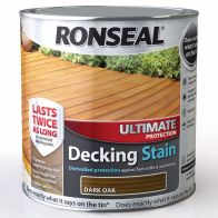See more information about the Decking Stain Dark Oak Ultimate Protection 2 Litre & 25%