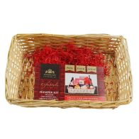 See more information about the Create Your Own Gift Hamper Kit Small Light Wicker - Small