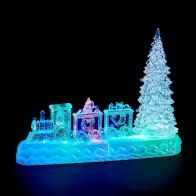 See more information about the LED Indoor Animated Train & Tree Christmas Decoration Battery