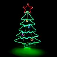 See more information about the Christmas Tree Multicoloured Rope Light