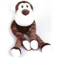 See more information about the 17 Inch Monkey Squeaky Luxury Toy