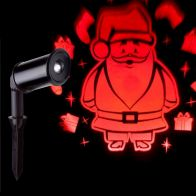 See more information about the LED Red Outdoor Santa & Presents Projector Light Mains
